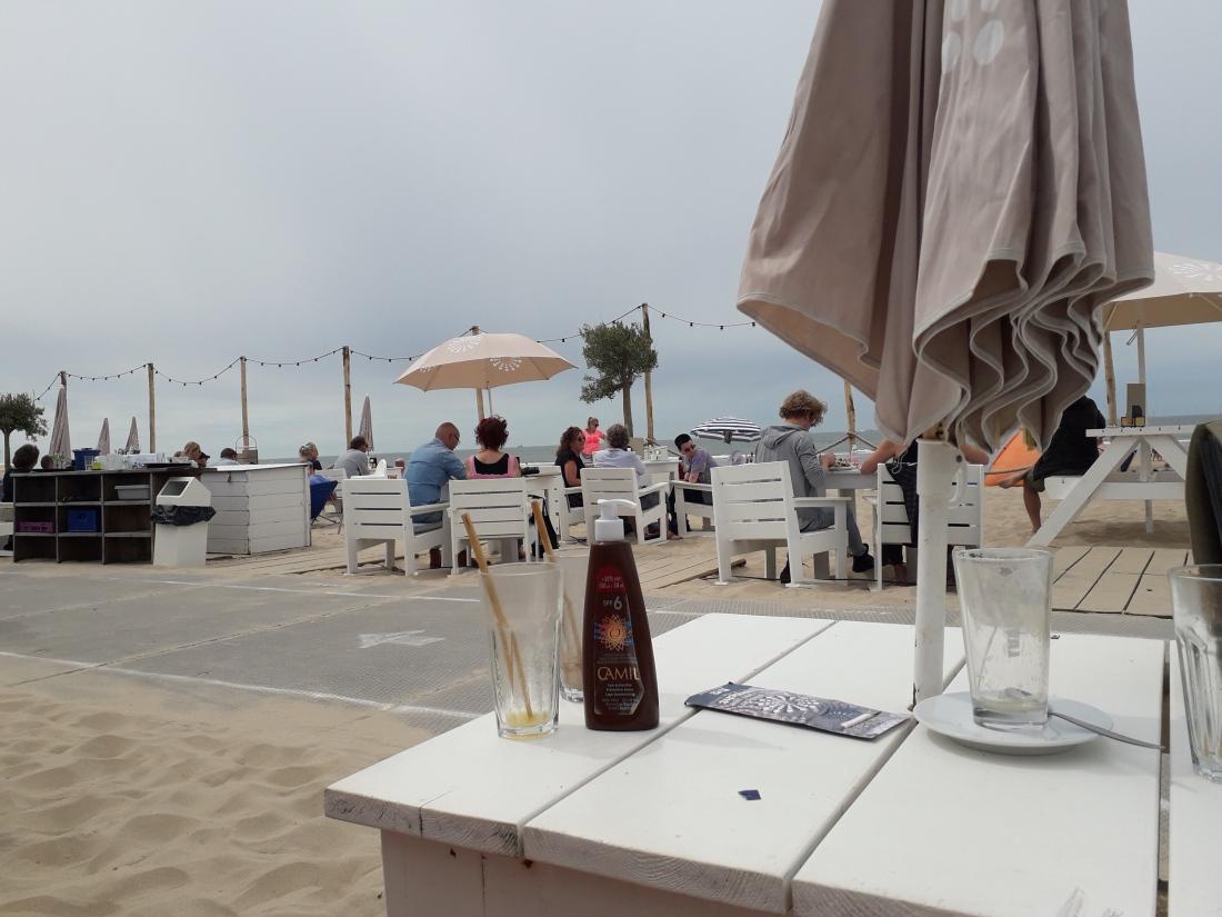 Blanca aan zee eten 1